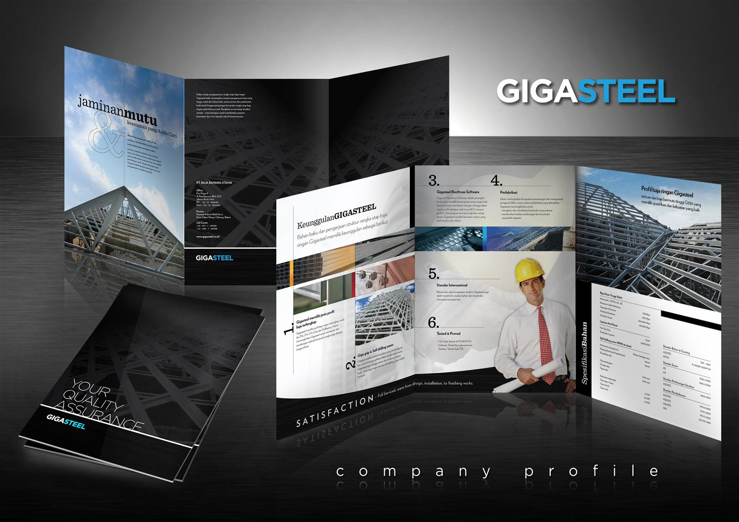 Gigasteel company profile nikko purnama for The design company